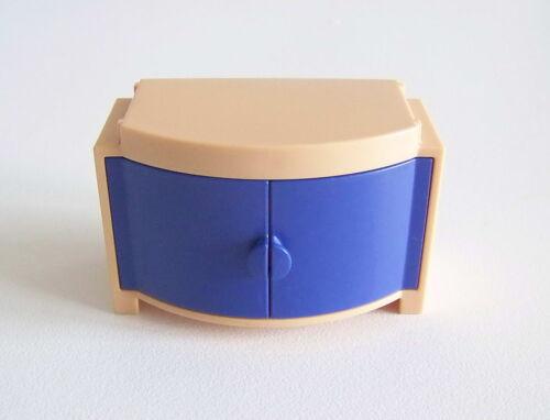 PLAYMOBIL MAISON MODERNE Placard 2 Portes Bleues Meuble Salon 3966 R205