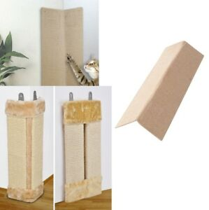 Sisal-Eck-Kratzbrett-Mur-de-Scratch-Board-Carte-Cat-Plan-Montage-Peluche