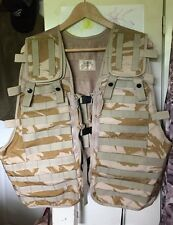 British Army Issue Desert Pattern Tactical Load Carrying Vest.