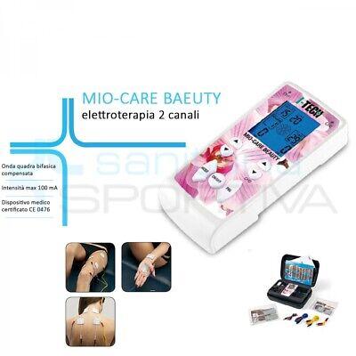 ELETTROSTIMOLATORE Tens Ems Fes 2 Canali 35 Programmi I-Tech Mio Care Beauty