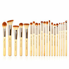 Jessup New 20pcs Bamboo Makeup Brush Set Cosmetic Brushes Kit Make up Tools T145