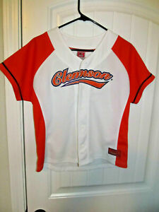 Details about Clemson Tigers Baseball jersey - Colosseum Youth Large