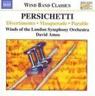 Persichetti: Divertimento; Masquerade; Parable (CD, Apr-2006, Naxos (Distributor))