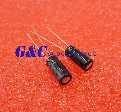 20PCS Radial Electrolytic Capacitor 1UF 50V 5x11mm NEW