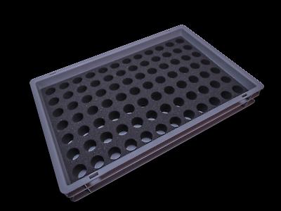 2019 Mode Stapelbox 60x40x7,5 Cm Incl. Locheinsatz Den Speichel Auffrischen Und Bereichern