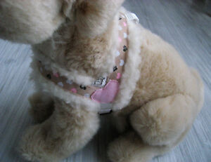 XXS-S-L-Winter-Hundhalsband-Halsband-Hundegeschirr-Hundbekleidung-Handarbeit