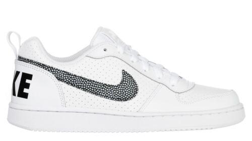 Scarpe Running Gs Donna Court Sneakers Sportive Borough Pelle Nike Bianche Basse w8n0OPXNk