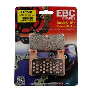 EBC Sintered Brake Pads - FA265HH - 2 Pair - Honda
