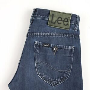 Lee Hommes Slim Jeans Jambe Droite Taille W30 L28 AVZ1496