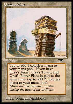 Mouth Art Urza/'s Mine Played //// Antiquities //// MTG Magic the Gathering