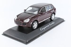 A-s-s-Minichamps-PMA-1-43-PORSCHE-CAYENNE-TURBO-RED-METALLIC-spacciatori-OVP-MIB-WAP
