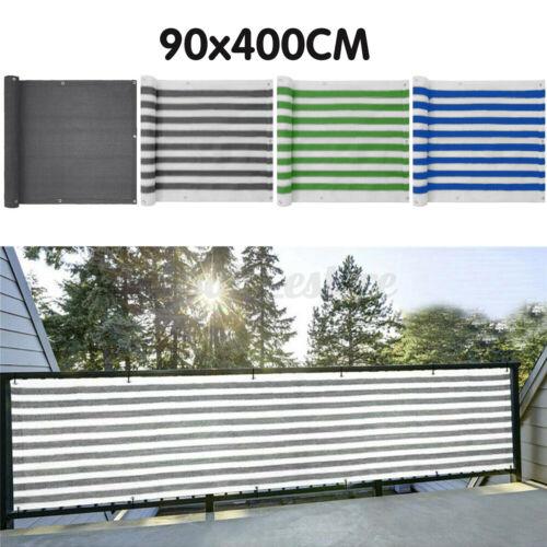 4M Deck Balcony Privacy Screen HDPE Screening Fence Garden Sunshade Wall
