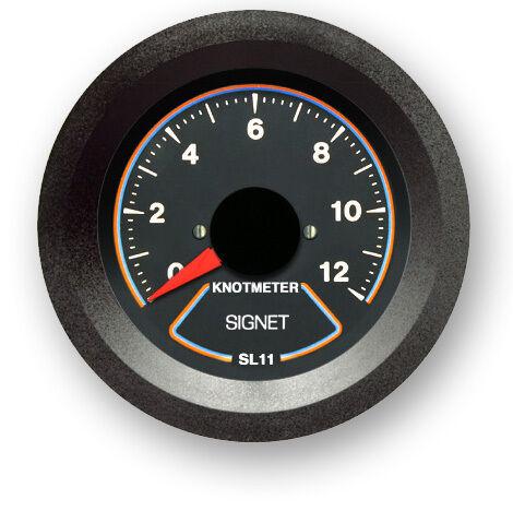 Brand New Signet Marine SL11 Analog Knotmeter - SIGNETMARINE  Knot Meter