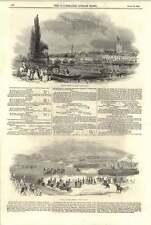 1844 Henley Regatta 8-oar'd Match Grand Review Phoenix Park