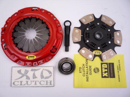 XTD PRO STAGE 3 CERAMIC CLUTCH KIT 3000GT BASE  STEALTH 2WD 3.0L NON TURBO V6