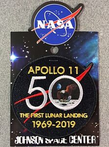 NASA-APOLLO-11-50TH-ANNIVERSARY-PATCH-Official-Authentic-SPACE-4in