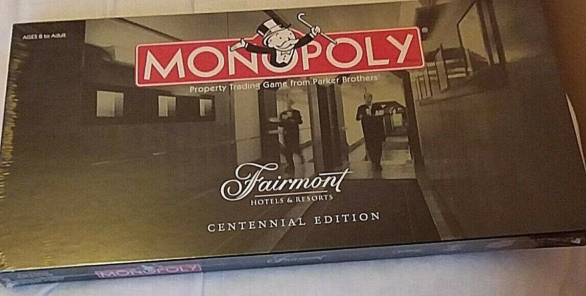 Monopoly - Fairmont Hotels and Resorts Centennial Edition Edition Edition ec4abf