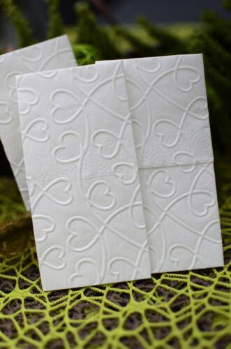200 geprägte Taschentücher Freudentränen Hochzeit Taufe
