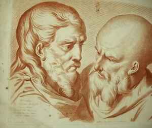 Etude-De-Drawing-IN-the-Ancient-Ap-Philippe-Louis-Parizeau-Engraving-18th-Blood