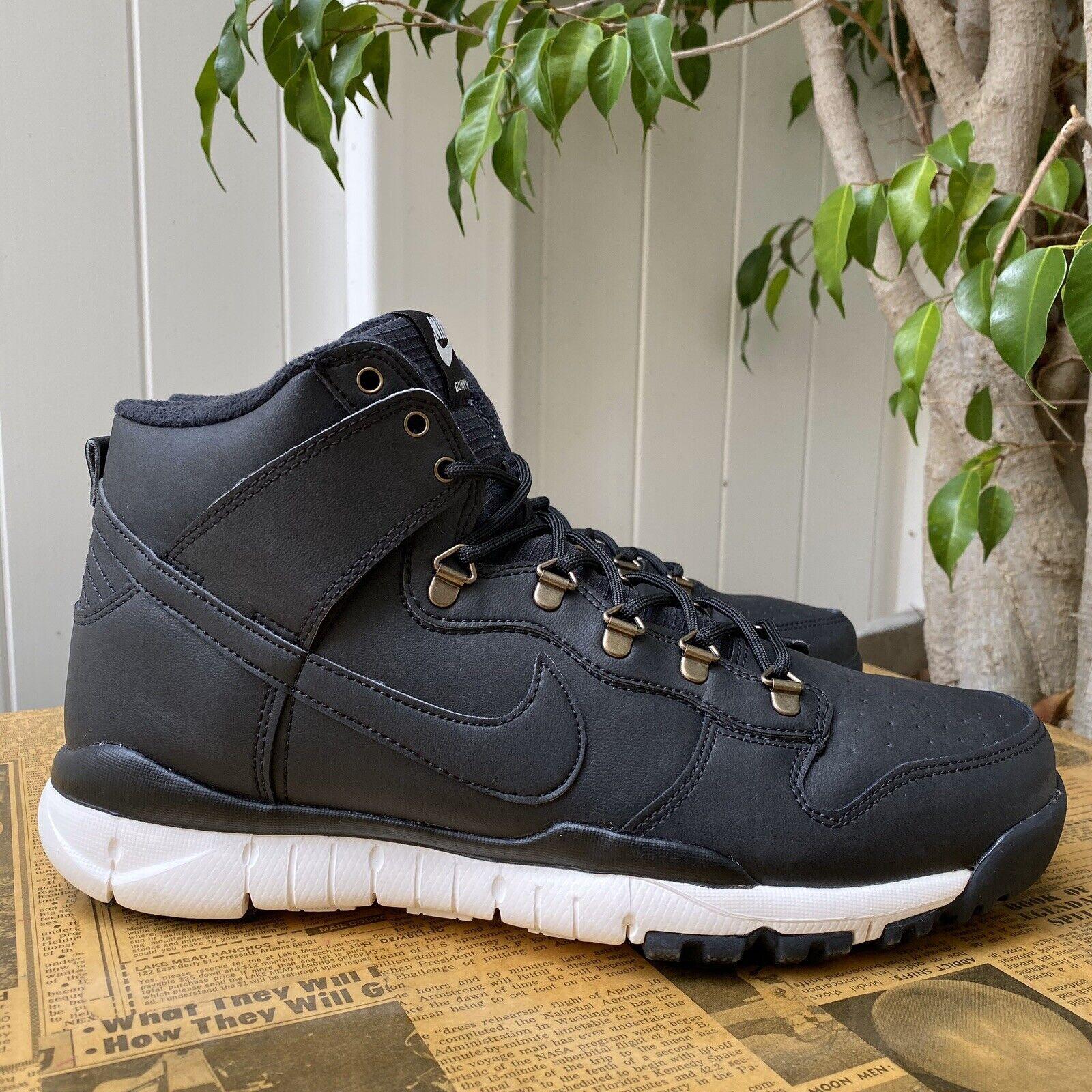 Nike SB Dunk High Boot UK 5.5 Black
