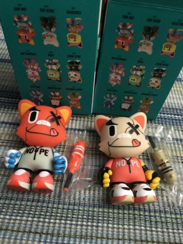 """Superplastic Janky Series 2 Jor Ros Ouch Ouch Chase 3.5/"""" Rare"""