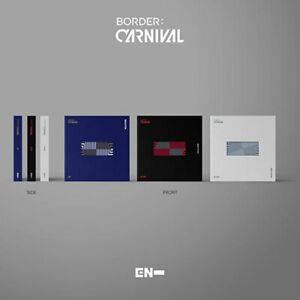 ENHYPEN Album [BORDER:CARNIVAL] CD+Book+Lyric+P.Card+Lenticular+F.Poster+Sticker