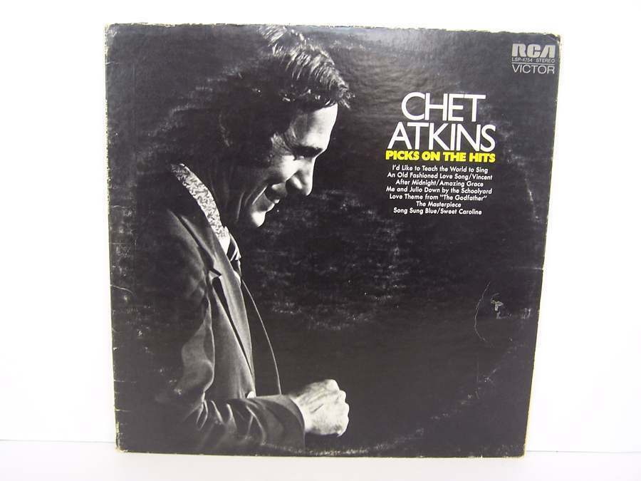 Chet Atkins - Picks On The Hits Vinyl LP Record Album L