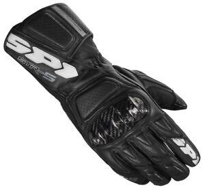 Gants Moto en 5 Str daim Spidi noir carbone Racing cuir rSwqrZct