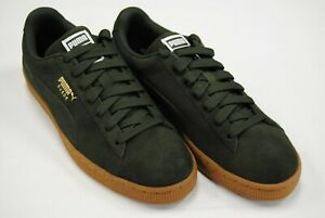 classic fit 4eb81 eafde Details about [365347 46] NEW MEN'S PUMA SUEDE CLASSIC FOREST NIGHT PUMA  TEAM GOLD PM14