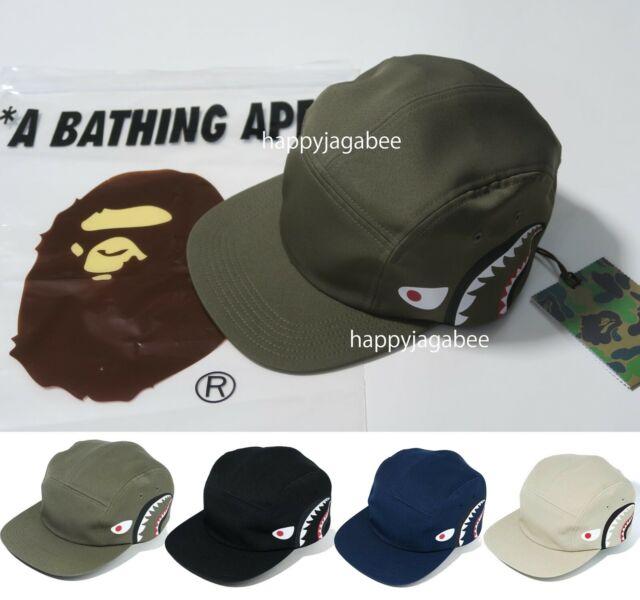 A BATHING APE Goods Men/'s COLOR CAMO JET CAP Snap Back 4colors From Japan New