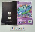 Nintendo 64 N64 Wetrix Notice / Instruction Manual