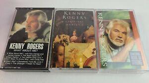 Kenny Rogers Cassette Tape Lot of 3