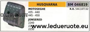 544147702 SILENCIADOR ESCAPE SILENCIADOR MOTOSIERRA JONSErojo 2240 2245 2250