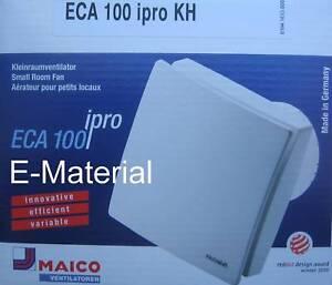 Maico Eca 100 Ipro Kh Lufter Badlufter Ventilator Mit
