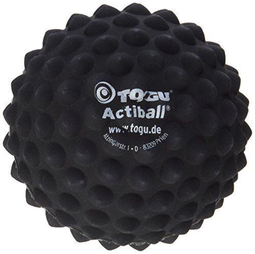 9 cm Togu Actiball Faszientraining Faszienmassage Ball Schwarz