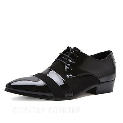 MENS BOYS WEDDING SHOES ITALIAN FORMAL DRESS OFFICE BROGUES CASUAL PARTY SIZE