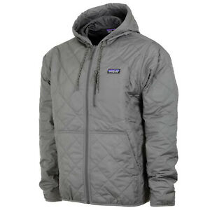 Patagonia Mens Diamond Quilted Bomber Hoody Jacket Hex