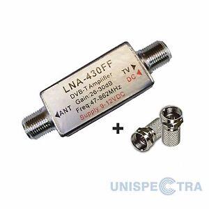 Mini-Monster-26-30db-en-linea-Amplificador-De-Senal-Booster-Para-Tdt-Aerials