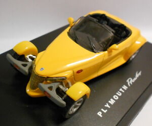 EAGLE RACE 1/43 Scale Diecast Model 642006 PLYMOUTH PROWLER soft top jaune