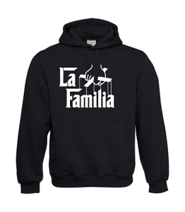 La-Familia-Marionette-I-Patter-I-Fun-I-Funny-to-5XL-I-Men-039-s-Hoodie