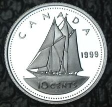 CANADIAN GEM 1999 - 10 CENTS - .925 SILVER - PROOF - Nice