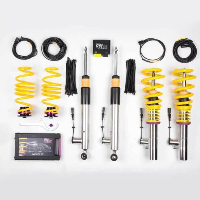 KW DDC - ECU Suspensión roscada coilovers inox 39010045 para AUDI A3