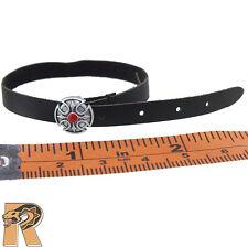 GK Spade 6 Ada - Black Leather Belt - 1/6 Scale - Damtoys Action Figures