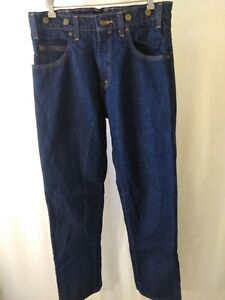 Prison-Blues-Carpenter-Pocket-Denim-Blue-Jean-Pant-Mens-34-x-34-Workwear-Superb