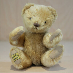 Merrythought-8-5-034-Mohair-Teddy-Bear-Limited-Ed-478-of-1000-Oliver-Holmes-VGC