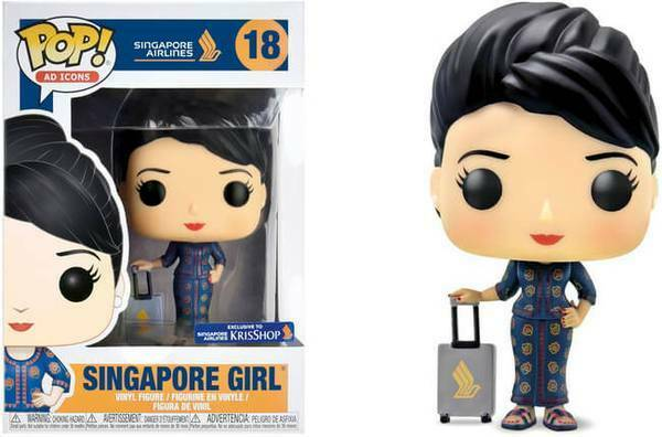 Funko Pop Ad Icons 18 Singapore Airlines 24816 Singapore Girl ROVINATO