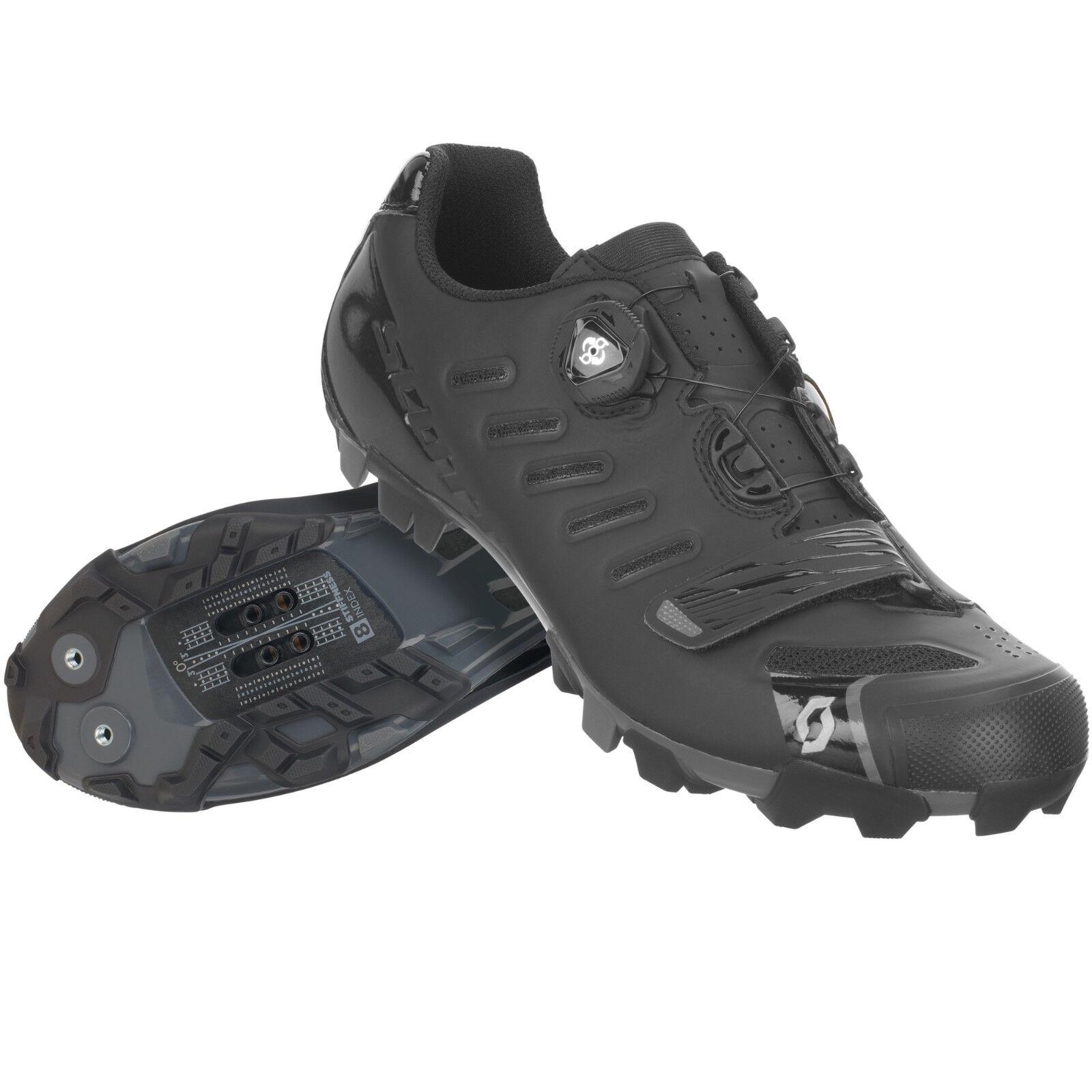 Schuhe Schuhe SCOTT MTB TEAM BOA schwarze Farbe