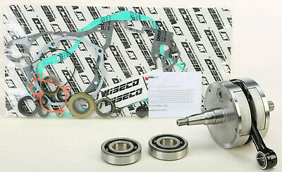 Suzuki RM 250 G 1986 Only Engine Rebuild Kit Main Bearings Gasket Set /& Seals