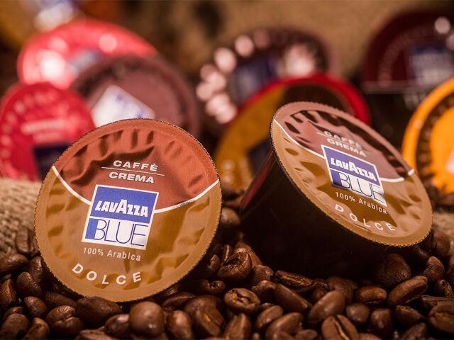 100 Lavazza Blue Kapseln Cafe Crema Dolce 970