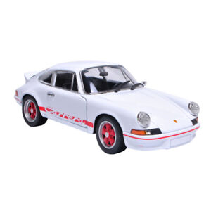 Welly-1-24-Porsche-911-Carrera-RS-2-7-Diecast-Model-Sports-Racing-Car-NEW-IN-BOX